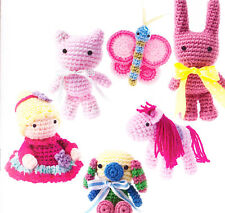 CLEARANCE - PATTERN - Sugar & Spice Amigurumi -  fun toys crochet PATTERN