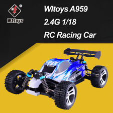 Wltoys A959 2.4G 1/18 50km/h Racing 4WD Electric RC Car Off-Road Buggy RTR