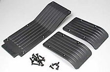 RPM 80112 Front/Rear/Center Skid/Wear Plate Black Traxxas T-Maxx E-Maxx