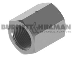 Burnett & Hillman Hydraulic METRIC Fixed Fem x metric fixed fem Adaptor 4-37