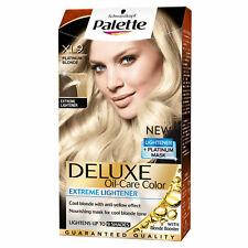 NEW Schwarzkopf Palette Deluxe Color Creme Hair Oil Care XL9 Platinum Blonde