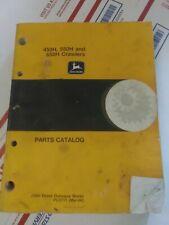 John Deere 450h 550h 650h Parts Manual Catalog Book Crawler Tractor Pc2711