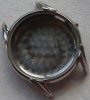 Chronograph mens wristwatch nickel chromiun case 35 mm. in diameter