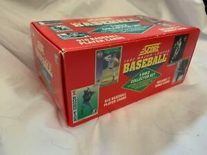 All Offers Welcome! 1992 Score MLB Collector's Set & Assorted Baseball Cards Lot
