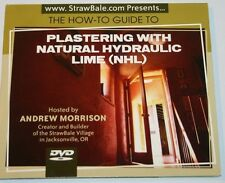 Plastering With Natural Hydraulic Lime (NHL) DVD  Andrew Morrison strawbale.com