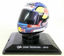 Altaya 1/5 Scale - Dani Pedrosa 2012 Arai Moto GP Helmet with Plinth and Case