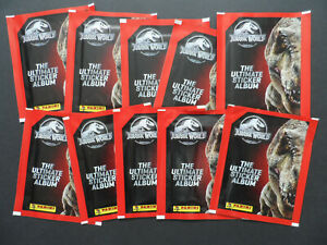 PANINI JURASSIC WORLD ULTIMATE STICKER COLLECTION 10 PACKS