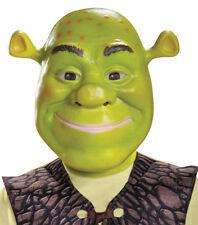 Morris Costumes Classic Children Shrek Plastic Vacuform Mask One Size. DG86367