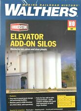 HO Scale Walthers Cornerstone 933-3023 ADM Grain Elevator Add-on Silos Kit