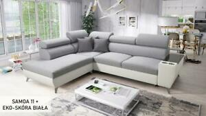 Brand New Corner Sofa Bed With Storage  Modivo VII