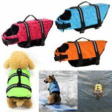 Dog Life Jacket Buoyancy Aid Pet Swimming Boating Reflective Safety Vest Suit