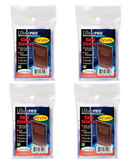 4 x 100 ct. Ultra Pro Premium Card Protector Sleeves Penny Plastic Clear