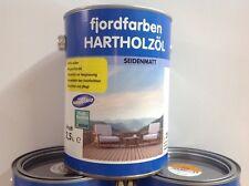 2,5 Liter fjordfarben Teaköl Hartholzöl Terrassenöl Holzschutz Holzöl Universal