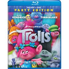New: TROLLS - DreamWorks - Blu-ray + DVD
