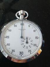 Brenet No. 15 Swiss Made Mechanical Stopwatch