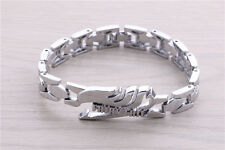 Watch chain style alloy metal bracelet of anime Fairy tail magic association!