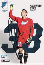 Alexander Stolz , 1899 Hoffenheim , Autogrammkarte Saison 2017/2018 , 17/18