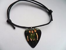 GREEN DAY  Guitar Pick Waxed Cord Adjustable Bracelet