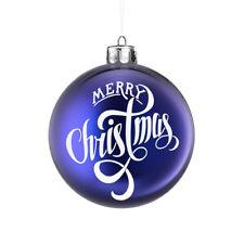 Feliz Navidad Vinilo Autoadhesivo con Decorativa Navidad Adorno Decoración Decoración Hazlo tú mismo