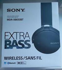 Sony mdr xb650bt extra bass bluetooth headphones