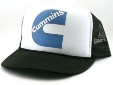 Cummins Trucker Hat mesh hat snapback hat black new adjustable Diesel hat