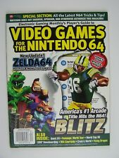 Electronic Gaming Monthly EGM #4 1998 Video Games For Nintendo 64 Magazine