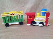 Tren de circo Fisher Price vintage