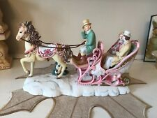 Vintage San Francisco Music Box Company Sleigh Ride by Ellen Kamysz