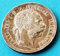 Austria  - Franz Joseph I. - 1880 - 1 Florin Silber Münze