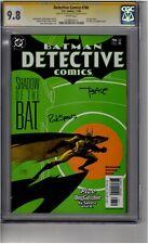 (B4) Detective Comics #786 CGC 9.8 Signature Series 2x Signed *Spears/Sale*