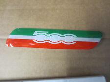 Fiat 500 Italy Left Hand Side Moulding Badge Emblem Logo Part No 50901676