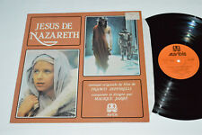 JESUS DE NAZARETH Music Soundtrack Score LP 1978 Auvidis Made in France Vinyl