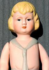 "NECKERCHIEF DOLL 7"" Hand Painted Porcelain Bisque MIB Condition B Shackman"