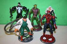 Marvel Legends Spider-Man siniestro seis figuras de acción X 5 Toybiz 2004