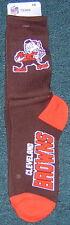 Cleveland Browns Brownie Elf Vortex Deuce Socks Shoe Size 10-13 EXCLUSIVE
