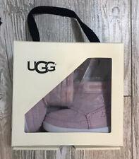 Ugg Cali Moc Campfire Pink Size 2/3 6-12 Months~Nib Brand New