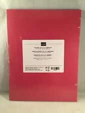 ROSE RED cardstock Stampin Up 8.5 X 11 -Comb Ship Disc Available