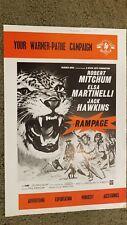 Rampage Press Book - British Campaign Book - Robert Mitchum