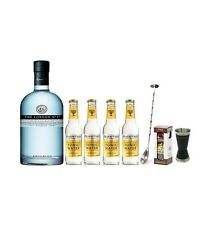 Pack Gin the London n° 1 da 70 cl + 4 toniche fever tree,Jigger,bar spoon,spezie