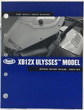 HARLEY DAVIDSON/BUELL OEM PARTS CATALOG 2007 XB12X ULYSSES MODEL 99575-07Y