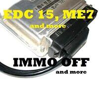 ME7 EDC15 WFS Wegfahrsperre Ausschalten Deaktivieren IMMO OFF 1.8T VR6 TDI VAG
