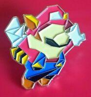 Super Mario Pin Geometric Mario Pin Enamel Retro Metal Brooch Badge Lapel