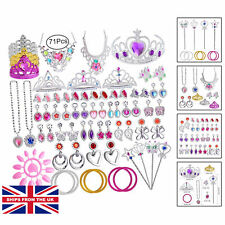 Princess Shoes & Tiara Fancy Dress Dressing up Party Set Girls Childrens Toy