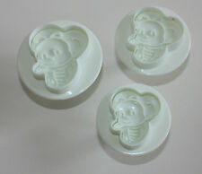 Bee Plungers Embossing Set of 3 Sugarcraft Cake Decorating, Cookie Cutter