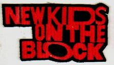 NEW KIDS ON THE BLOCK vintage embroidered sew on patch NKOTB