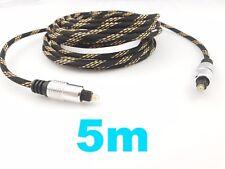 Optisches Toslink Kabel Digital Optical Audio Cable Metallstecker