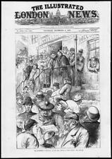 1879 Antique Print - Scotland GLASGOW WEST CALDER GLADSTONE POLITICS (265)