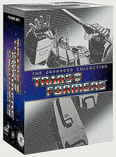 .Transformers The Japanese Collection Complete TV Series 1-4  Boxed DVD Set,New!