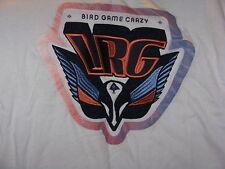 """Bird Game Crazy "" T-Shirt  Great Image(L)"