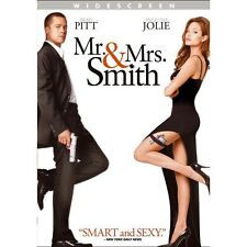 Mr. and Mrs. Smith (DVD, 2009, Widescreen)Disc Only !!